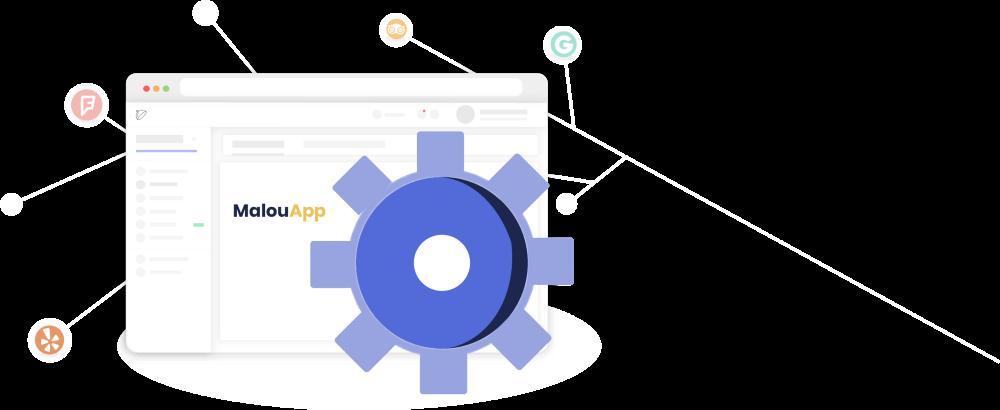 """StoqueMarket - """"MalouApp"""", l'application qui centralise vos outils en ligne"""